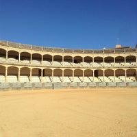 Photo taken at Plaza de Toros de Ronda by slys on 12/24/2012
