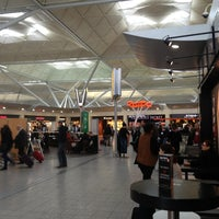 Photo taken at London Stansted Airport (STN) by Maria V. on 4/3/2013