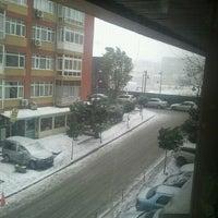 Photo taken at Akabe İş Merkezi by Kaan Ş. on 12/20/2012