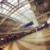 Photo taken at Boryspil International Airport (KBP) by Svetlana G. on 1/27/2013