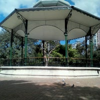 Photo taken at Plaza Barrancas de Belgrano by Julio F. on 9/25/2012