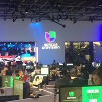 Photo taken at Fusion Newsport/Univision Noticias by Anita L. on 9/28/2016