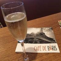 Photo taken at Café De Paris by Saartje 🍒 D. on 8/19/2016