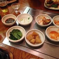 Photo taken at Riverside Korean Restaurant by Christine E. on 1/26/2014