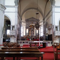 Photo taken at Chiesa di Santa Maria Formosa by Sergey Z. on 6/12/2014