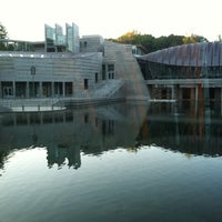 Photo taken at Crystal Bridges Museum of American Art by Patrick G. on 10/10/2012