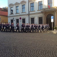 Photo taken at Hradní stráž by MiBa . on 10/28/2013