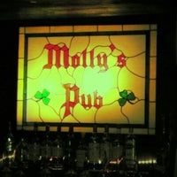 Photo taken at Molly's Pub by Jay N. on 11/25/2012