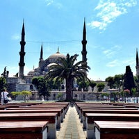 Photo taken at Blue Mosque by Serra S. on 7/9/2013