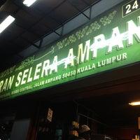 Photo taken at Restoran Selera Ampang by Lee Botak on 8/10/2013