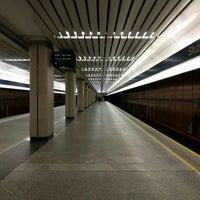 Photo taken at Metro Służew by Igor V. on 4/30/2016