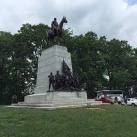 Photo taken at Virginia Monument, Gettysburg Battlefield by Angela C. on 6/3/2016