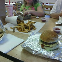 Photo taken at Five Guys by Jessica Renee on 6/19/2013
