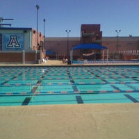 Photo taken at Hillenbrand Aquatic Center by sunny on 5/9/2013