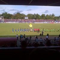Photo taken at Stadion Wijayakusuma Cilacap by Aryo D. on 4/19/2013