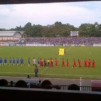 Photo taken at Stadion Wijayakusuma Cilacap by Aryo D. on 4/23/2013