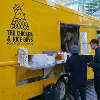 Photo taken at The Chicken & Rice Guys by John L. on 10/12/2014
