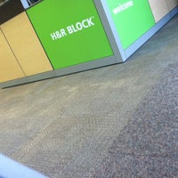 Photo taken at H&R Block by Jennifer D. on 3/16/2013