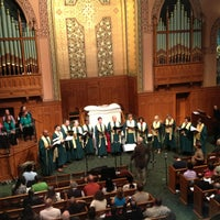 Photo taken at Middle Collegiate Church by Gabby D. on 4/14/2013