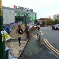 Photo taken at Sevenoaks Railway Station (SEV) by Pedro S. on 11/23/2012