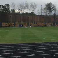 Photo taken at Galloway Athletic Complex by Stephen G. on 3/21/2015