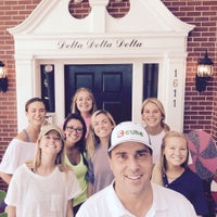 Photo taken at Delta Delta Delta by Find The Cube Dude on 8/11/2015