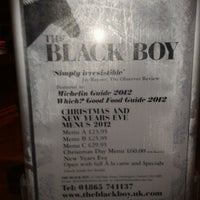 Photo taken at The Black Boy by Cecília F. on 11/30/2012