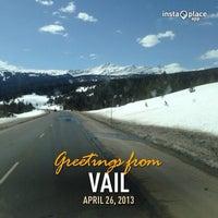 Photo taken at Vail Summit by Rafaelito F. on 4/26/2013