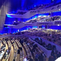 Photo taken at Qatar National Convention Centre by Mihai N. on 3/23/2013