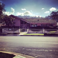 Photo taken at Brady Bunch House by Jack S. on 1/27/2013