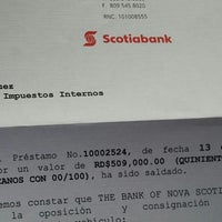 Photo taken at Scotiabank by Shendy G. on 10/27/2014