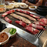 Photo taken at Fresh Korean B.B.Q. by Kirk D. on 6/17/2013