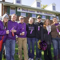 Photo taken at WIU Alumni House by WIU Alumni House on 1/9/2015