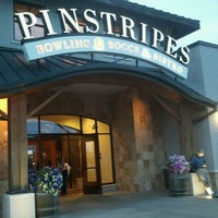 Photo taken at Pinstripes by Cindy R. on 9/21/2012