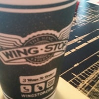 Photo taken at Wingstop by Quincy W. on 9/4/2014