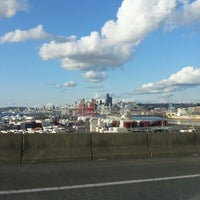 Photo taken at West Seattle / Jeanette Williams Memorial Bridge by Skattitude on 3/23/2013