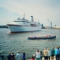 Photo taken at View Point Hamburg by Julian W. on 8/2/2014