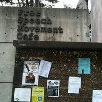 Photo taken at Free Speech Movement Cafe by Bill熊 ビ. on 3/30/2013
