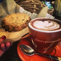 Photo taken at Olive et Gourmando by maria s. on 2/5/2013