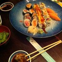 Photo taken at Sushi Lounge by Hande O. on 3/11/2013