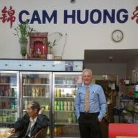 Photo taken at Cam Huong by Jim H. on 4/17/2013