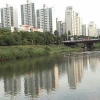 Photo taken at Han River Bicycle Path 한강 자전거도로 by s p. on 9/22/2012