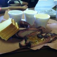 Photo taken at Chisholm Trail Bar-B-Q by Melissa D. on 5/27/2013