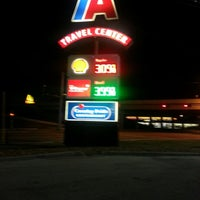 Photo taken at TravelCenters of America by Jessica on 11/27/2012