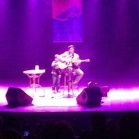 Photo taken at Teatro Municipal de Itajaí by Matheus M. on 7/10/2013