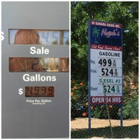 Photo taken at Gas Station In The Middle Of The Dessert by Michael B. on 7/3/2016