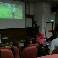 Photo taken at Kompleks Dewan Kuliah Fakulti Sains by Aliff A. on 11/30/2015