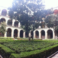 Photo taken at Antiguo Colegio de San Ildefonso by Dey B. on 1/2/2013