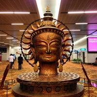 Photo taken at Indira Gandhi International Airport (DEL) by Cindy C. on 2/7/2013