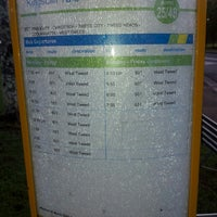 Photo taken at Kingscliff Tafe Bus Stop by Trent M. on 6/27/2013